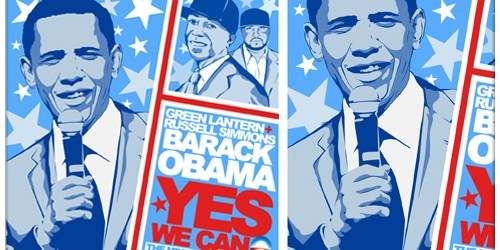Election Day: DJ Green Lantern, Russell Simmons & Barack Obama: Yes We Can (The Mixtape)
