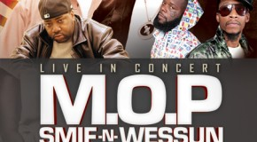 CONTEST: Win tickets to see  M.O.P, Smif-N-Wessun & Lord Finesse