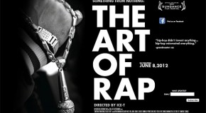 "Ice-T's directorial debut – ""Something from Nothing: The Art of Rap"""