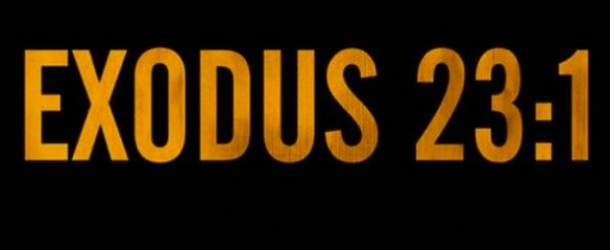 "[VIDEO] Pusha T – ""Exodus 23:1″"