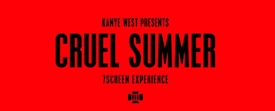 KANYE REVEALS NEW G.O.O.D. ALBUM & FILM TITLE: CRUEL SUMMER