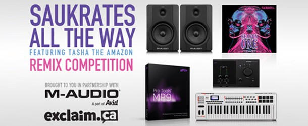 New Music & Remix Contest: Saukrates ft. Tasha the Amazon – All The Way