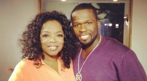 "Oprah Winfrey sits down with Curtis ""50 Cent"" Jackson"