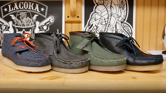Clarks Wallabees shoes