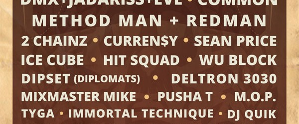 CONTEST: Rock The Bells ticket give-away!