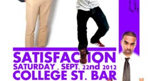 [EVENTS] #TORONTO: SATISFACTION
