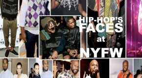HIP-HOP'S FACES AT NYFW