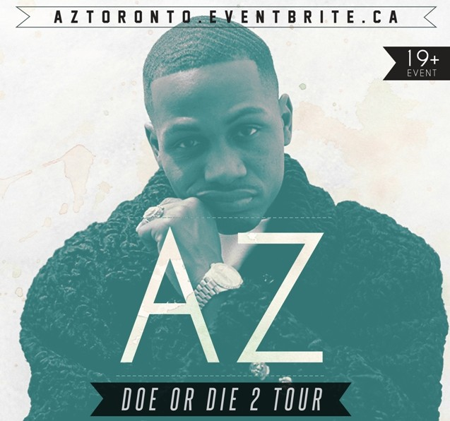 [CONTEST/GIVEAWAY] Win Tickets to see AZ in Toronto!