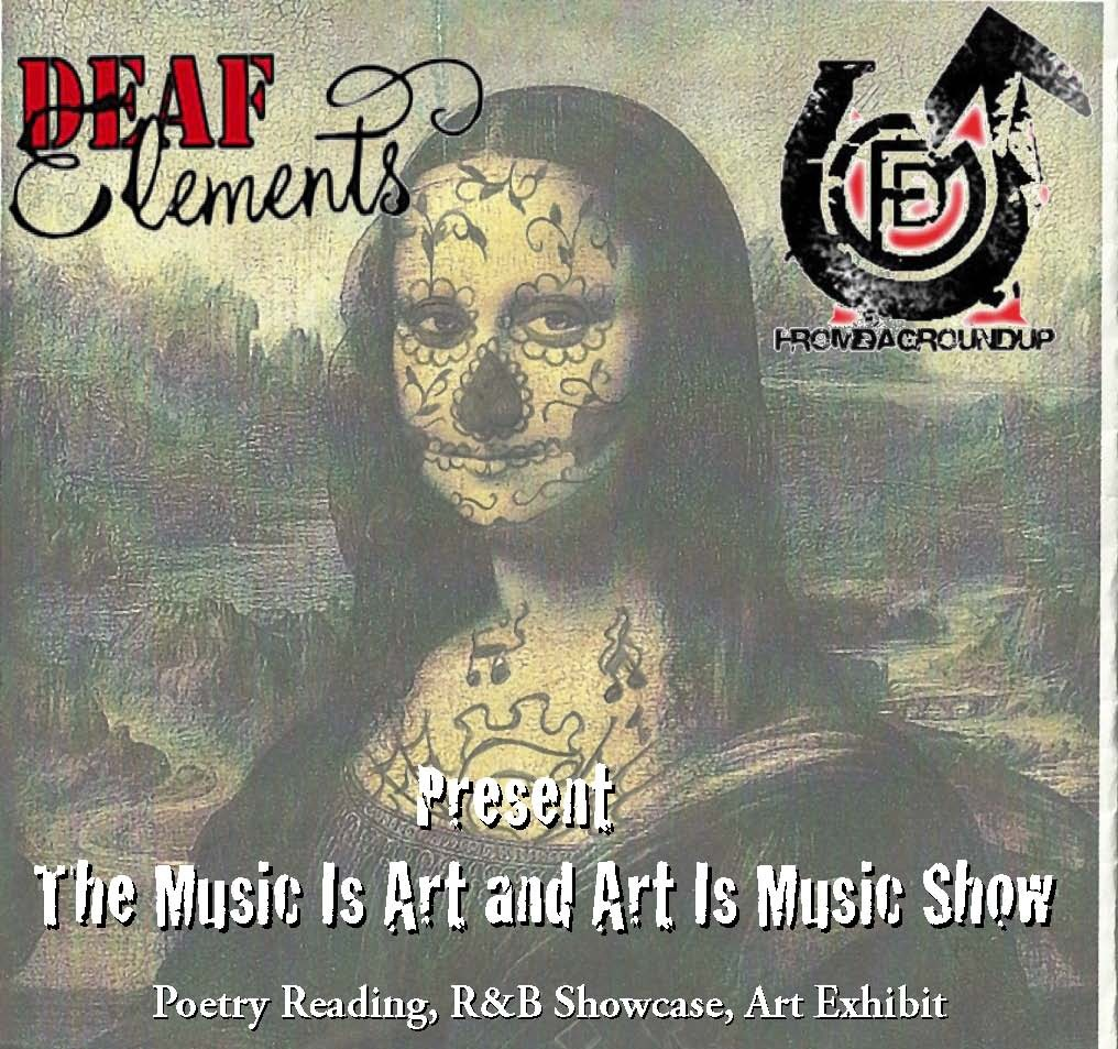 [EVENT] New Jersey :: Deaf Elements Project Presents Music is Art and Art is Music