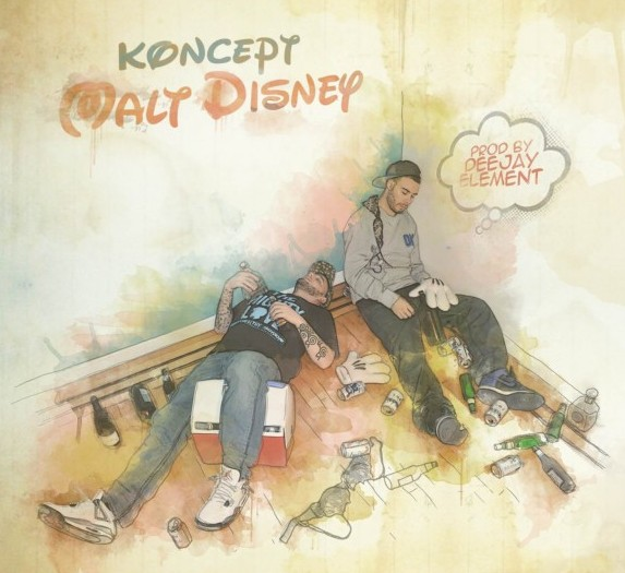 "[MUSIC] Koncept feat. Tanya Morgan – ""Space Mountain"""