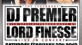 DJ Premier x Lord Finesse in concert w/ DJ Law & DJ Switches