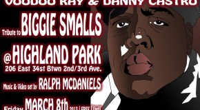 [NYC EVENTS] Biggie Smalls Tribute! w/ video mixing  *FREE TO ENTER*