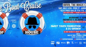 CONTEST – Win a pair of tickets to HIP HOP VS HOUSE BOAT CRUISE