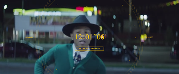 Pharrell's 24 Hours of Happiness